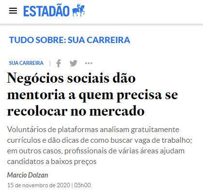 Na Imprensa | Jornal Estadão